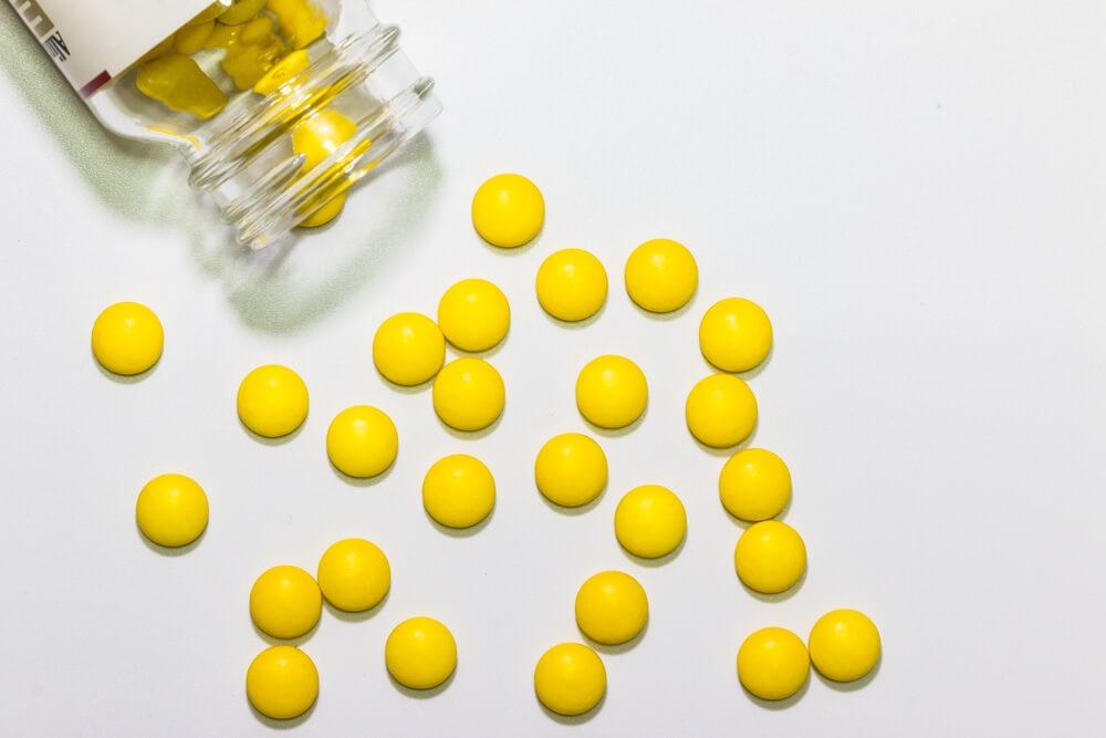 Comprimidos de medicamentos
