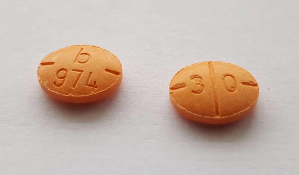 Adderall-Pillen